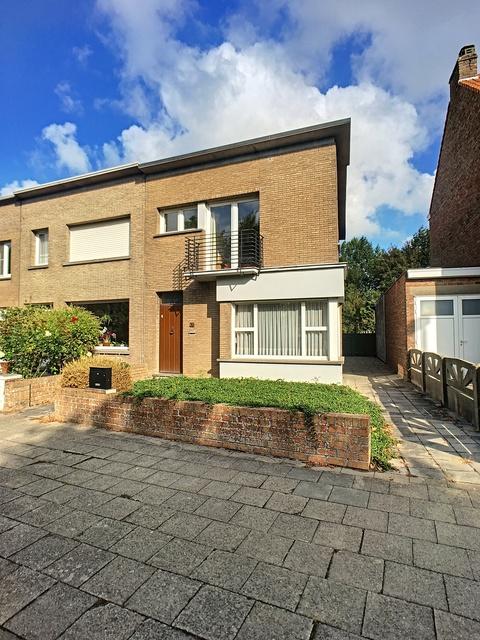 VERKOCHT Huis met tuin - Blankenberge/Uitkerke
