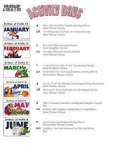 Calendar 2012 Jan-June