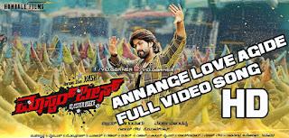 Masterpiece Kannada Movie Annange Love Aagidhe Full HD Video Song