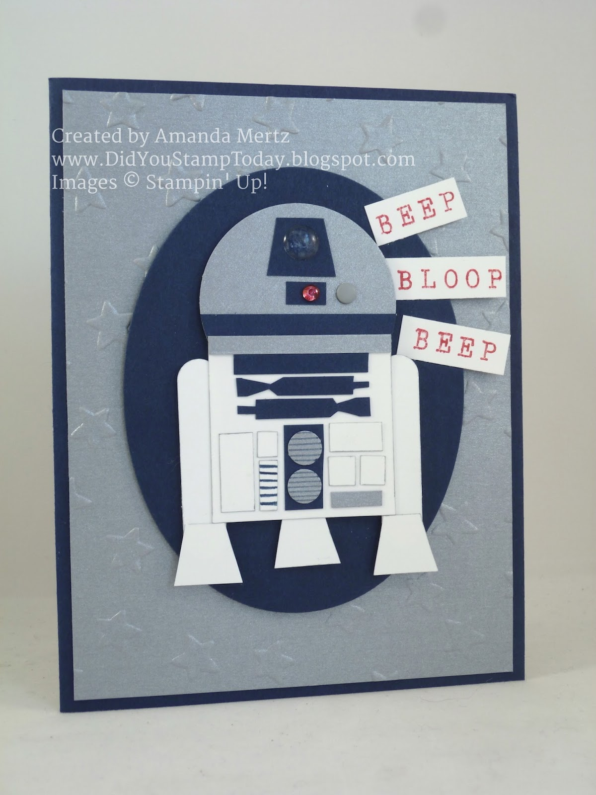 Did you stamp today star wars r2d2 birthday star wars r2d2 birthday bookmarktalkfo Choice Image