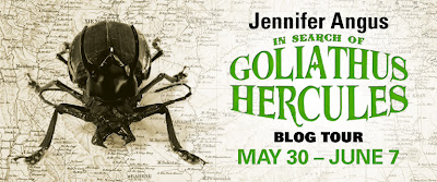 Tour Stop: In Search of Goliathus Hercules guest post + giveaway!