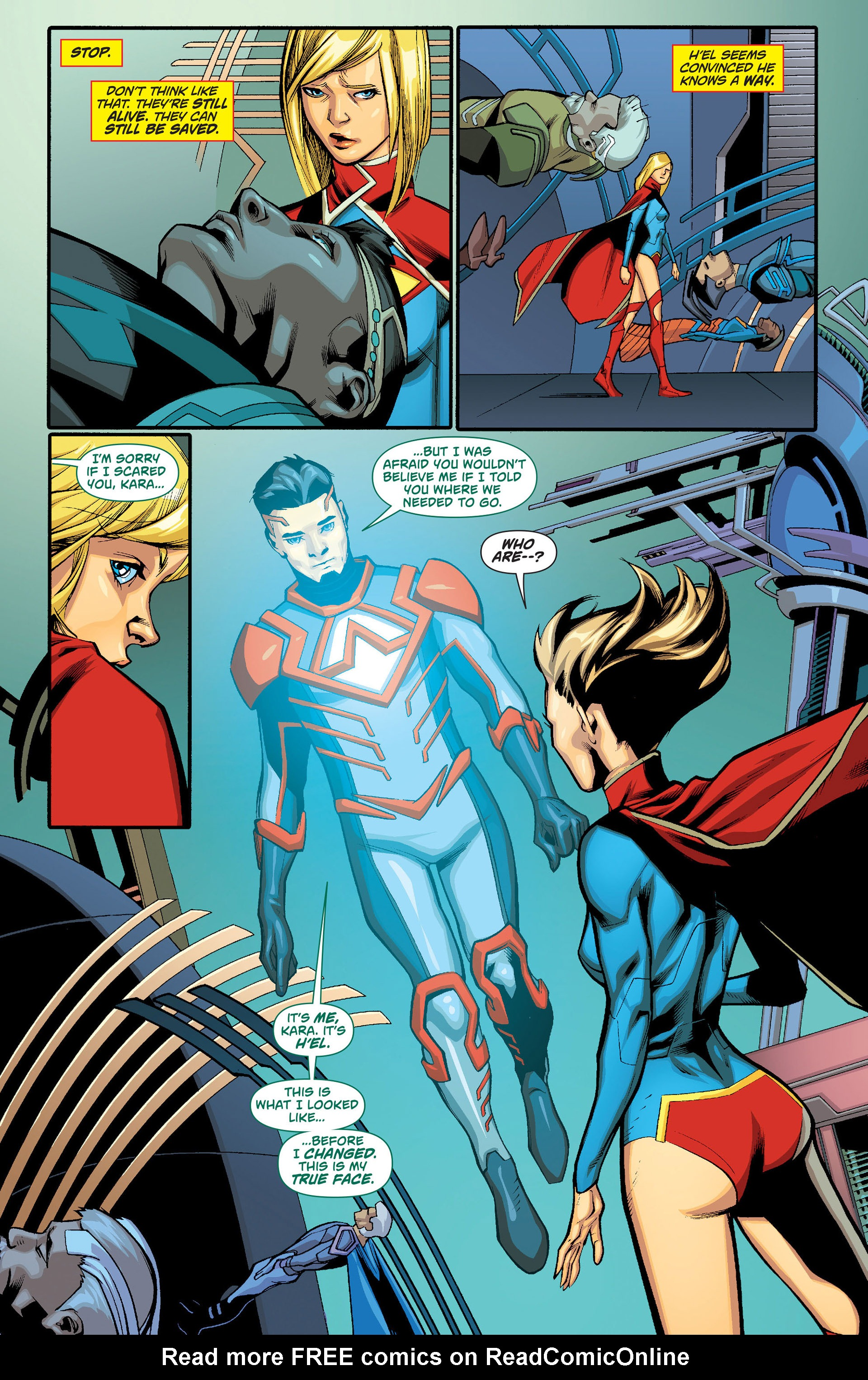 Supergirl (2011) Issue #15 #17 - English 12