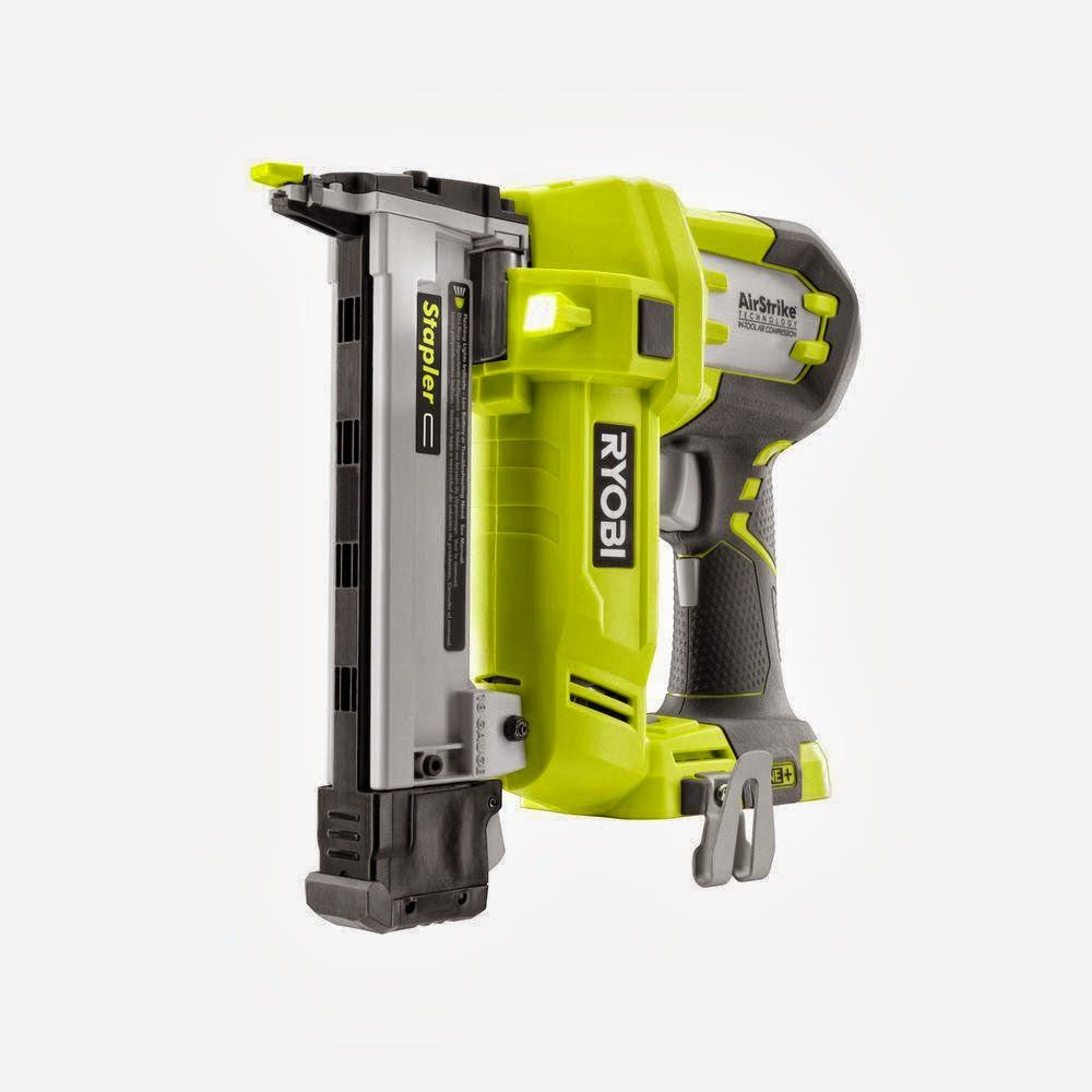 Enter the Ryobi Airstrike Stapler Kit Giveaway. Ends 2/21.