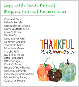 Thankful Blog Tour Oct. 3-7