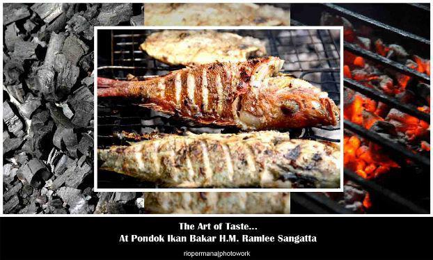 Pondok Ikan Bakar H.M. Ramlee Sangatta