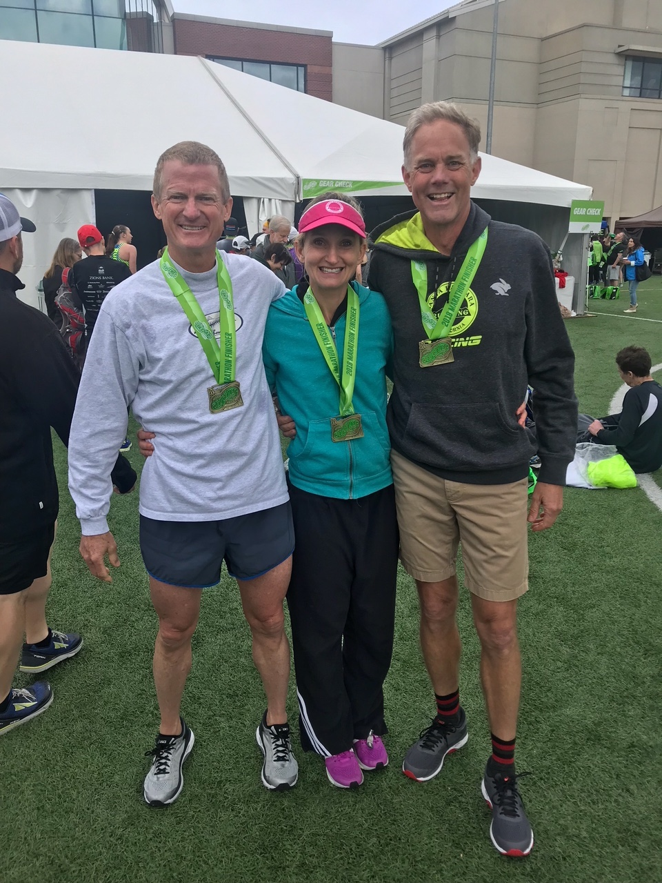 Dan, Katie and Jim qualify for Boston 2019
