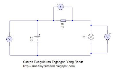 Pengukuran tegangan listrik