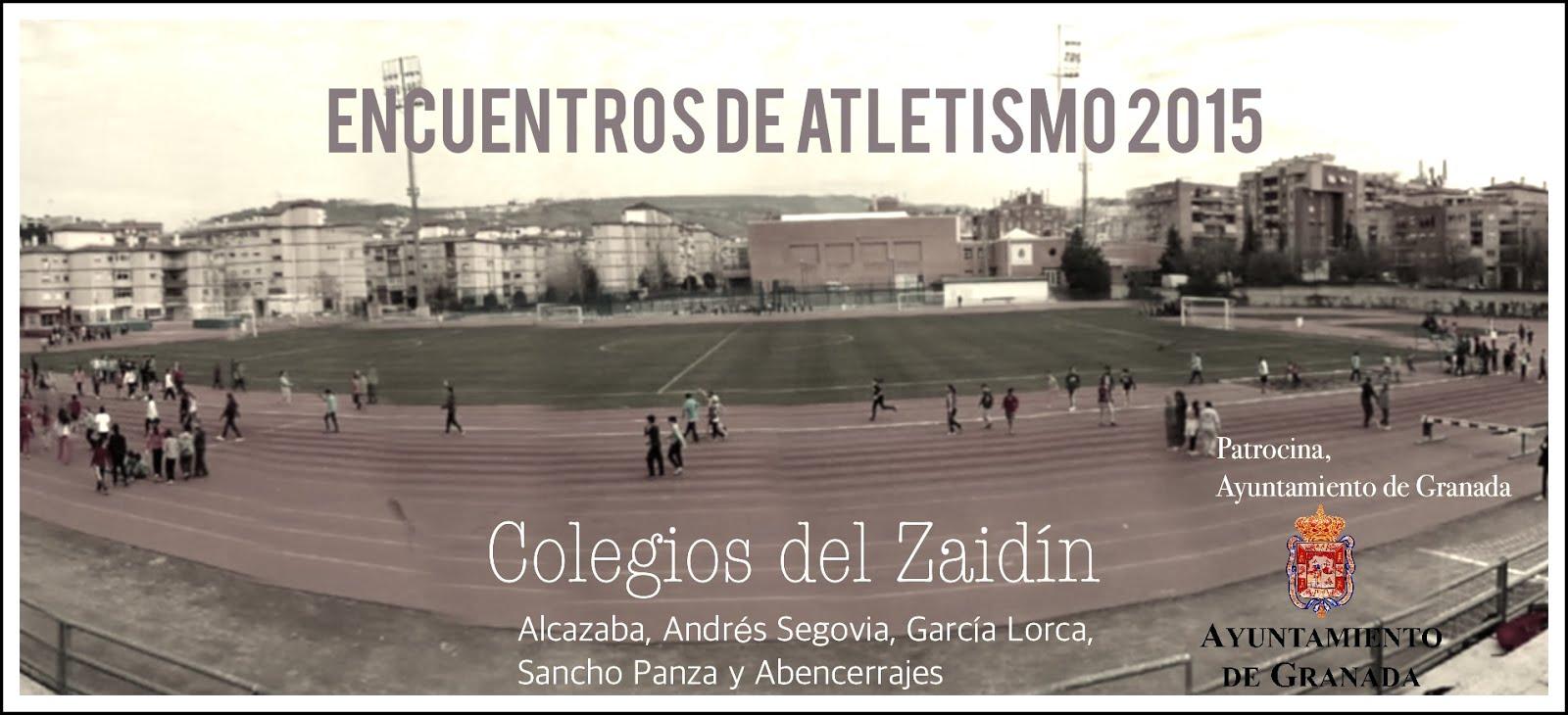 Encuentros de Atletismo 2015