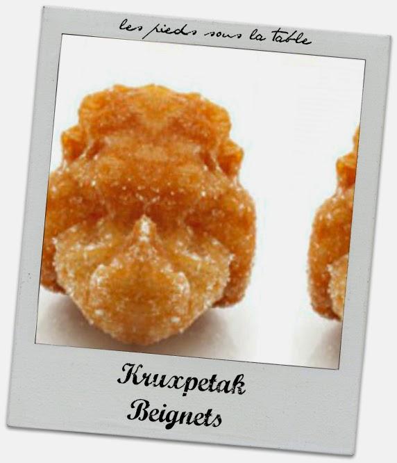 recette Kruxpetak ou beignet
