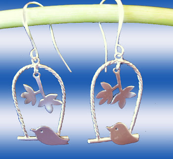Singing Birds Charm Dangle Trendy Chic Earrings