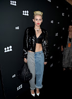 Miley Cyrus   at  New MySpace Launch Party