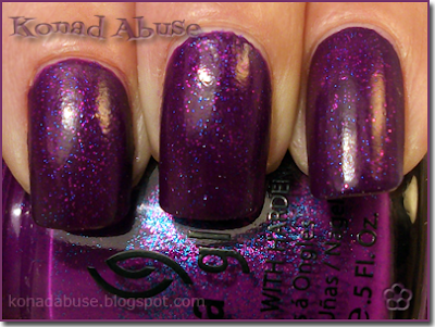 China Glaze Flying Dragon (Neon) Swatch