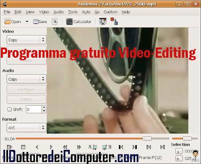 programma gratuito video editing