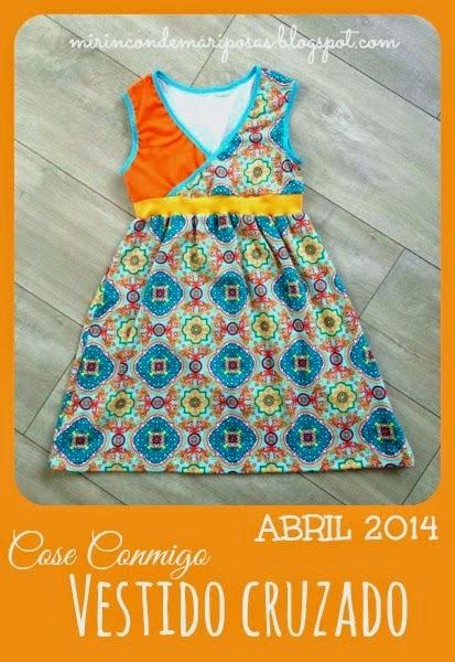 CC Vestido cruzado
