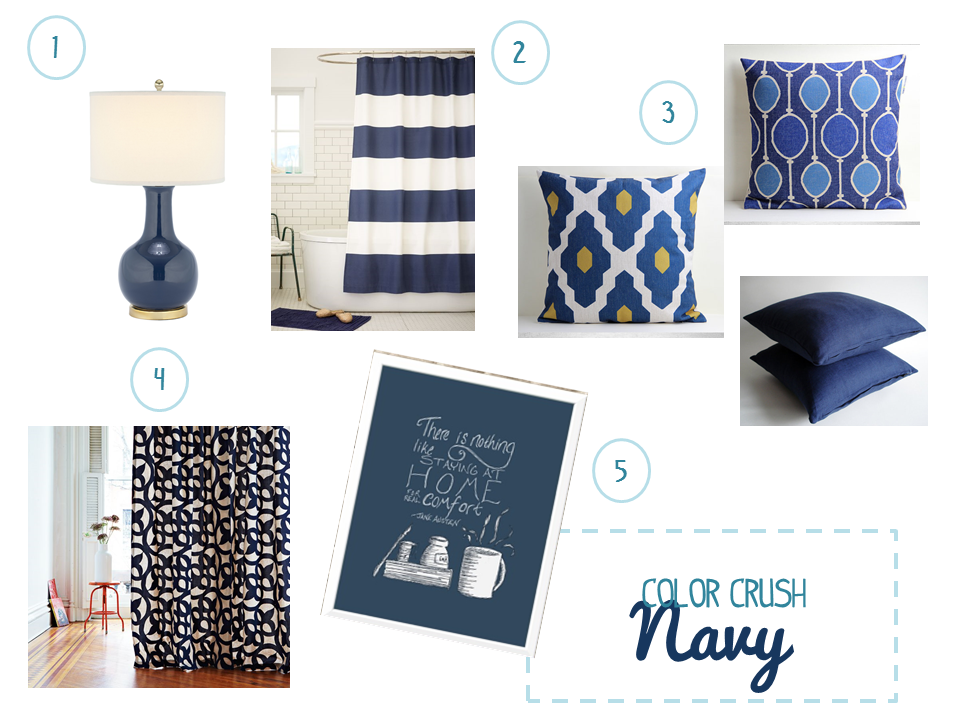 Color Crush: Navy