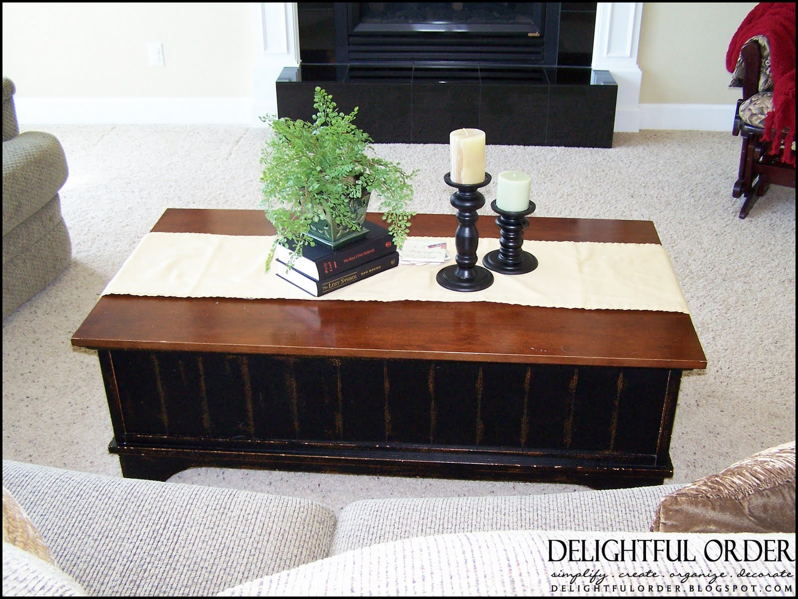Delightful Order Staging A Clients Home