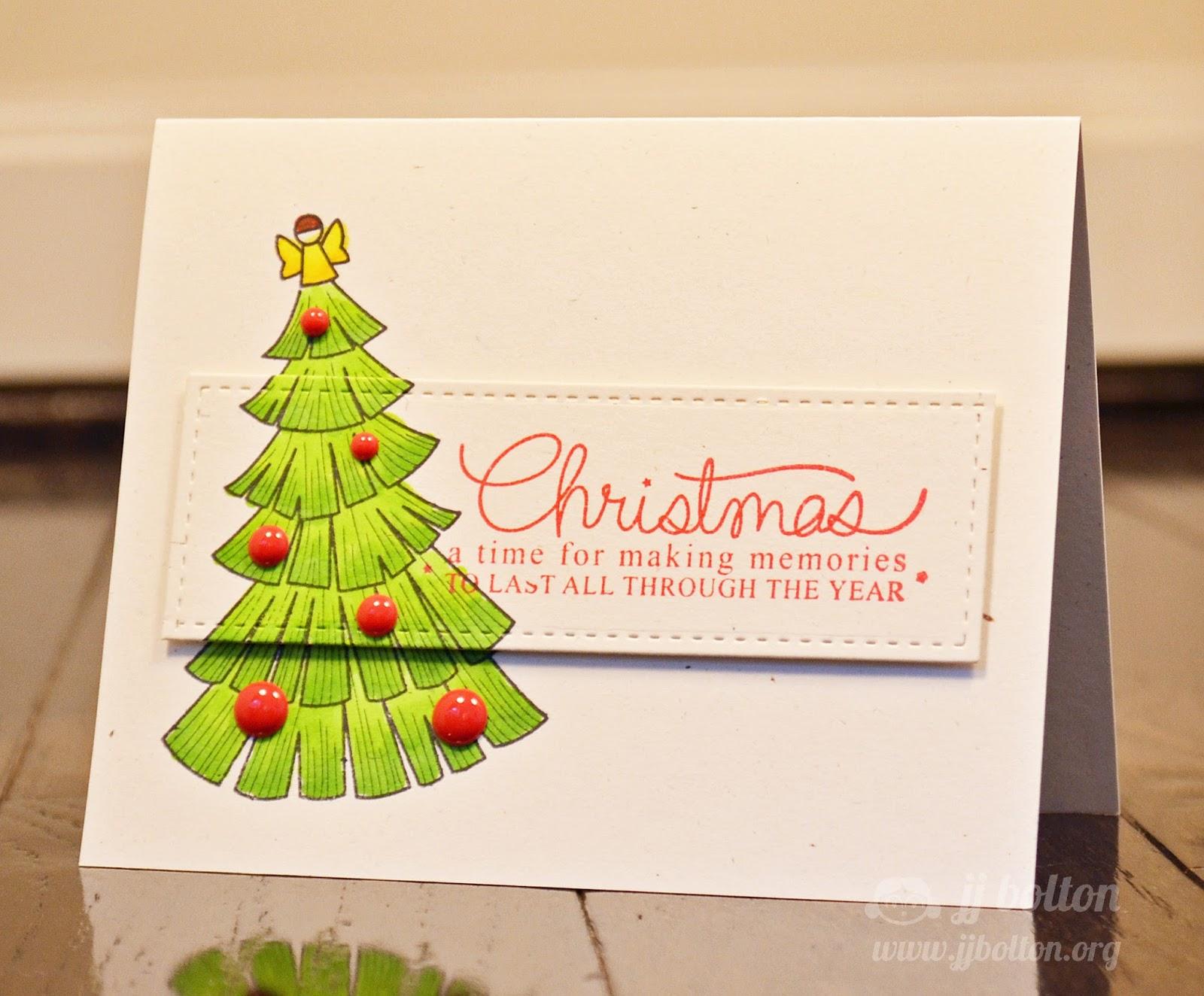 jj bolton {handmade cards}: Mama Elephant Stamp Highlight: Merry ...