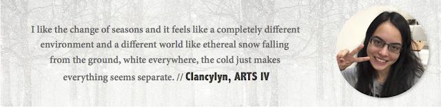 Clancylyn, UAlberta - Winter