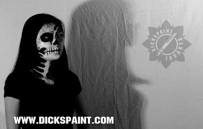 face painting horror jakarta
