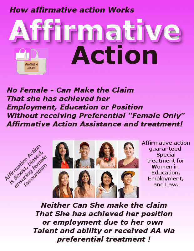 affirmative action preferential treatment Under strong preferential treatment  equal opportunity than for the principle of affirmative action , affirmative action in general, preferential.