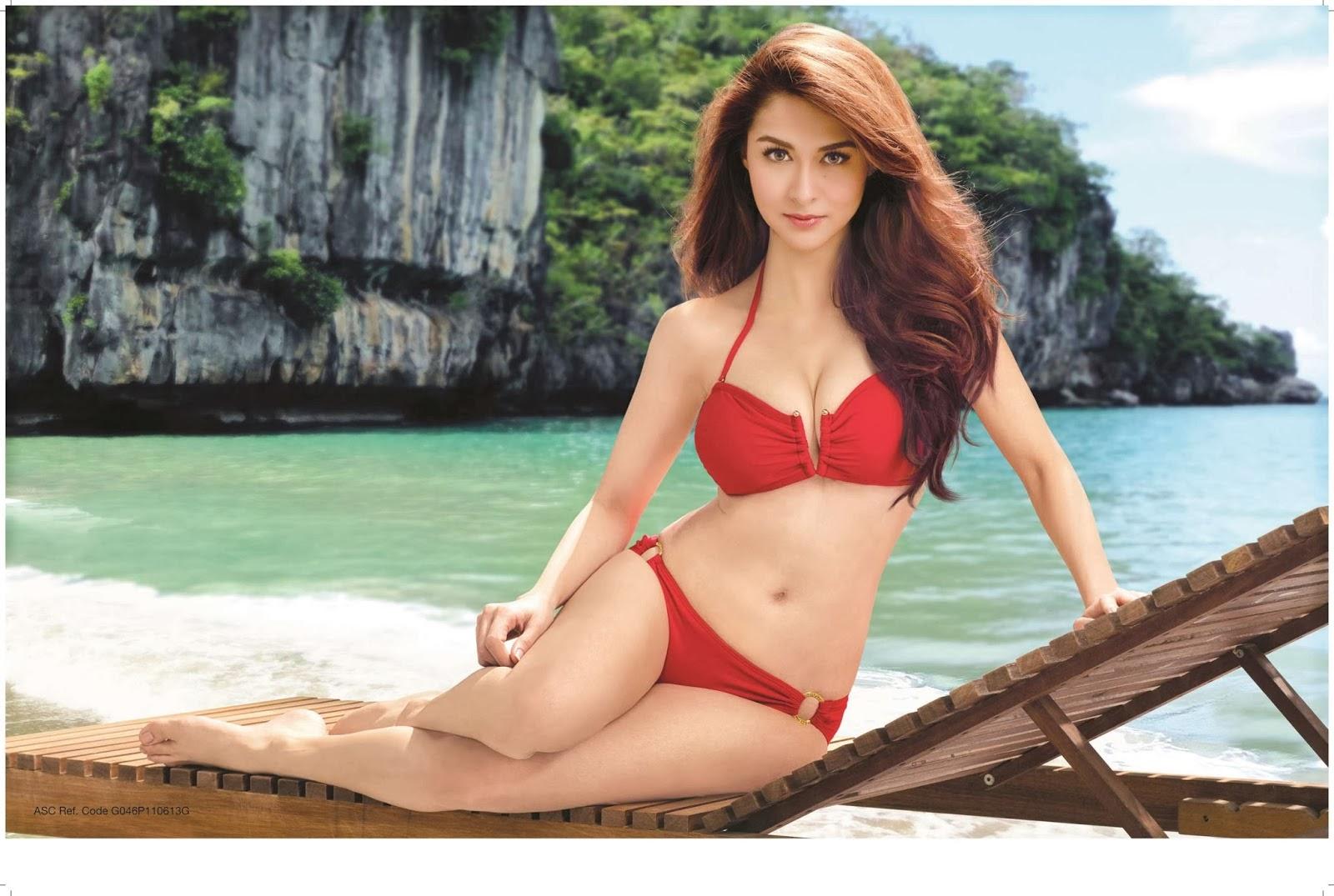 marian rivera gsm bikini calendar 2014