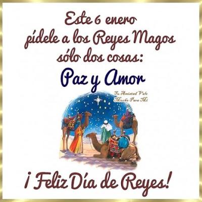 Tarjeta Para El Dia De Reyes 6 De Enero