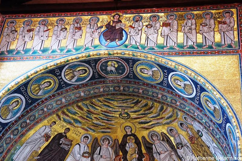 Euphrasian Basilica Mosaic Pazin Istria Croatia Travel