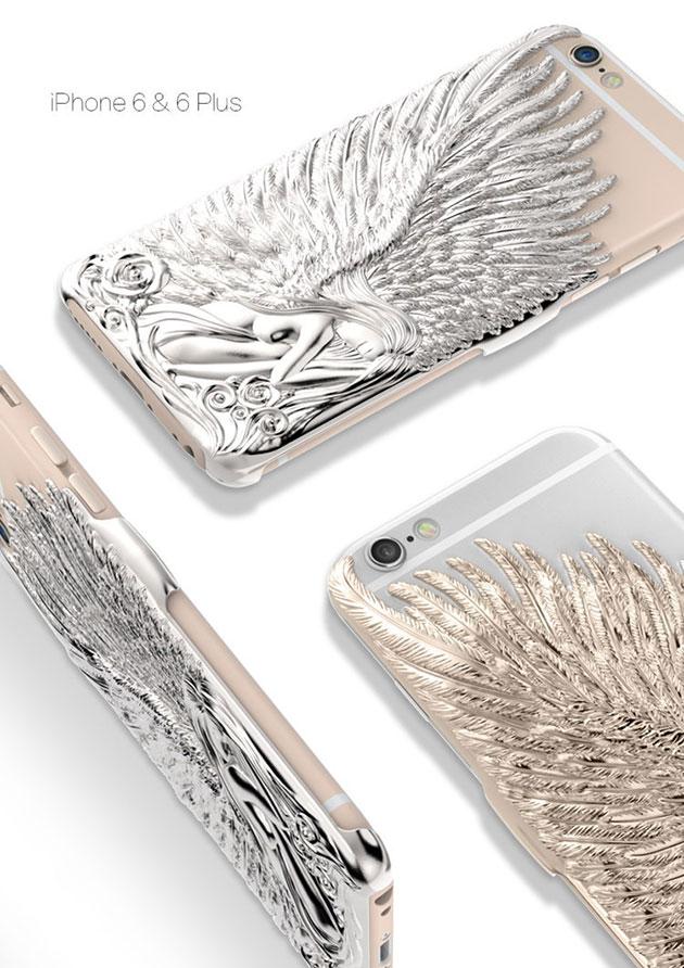 เคส bumper รุ่น angel wing สำหรับ iPhone 6 Plus