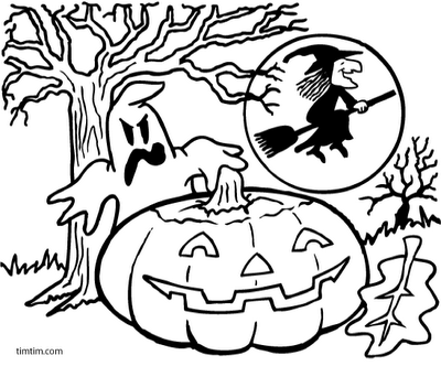 Simple Halloween Ghost Coloring Pages Galleryhipcom