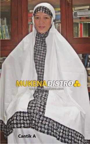 MUKENA DISTRO | CANTIK A |  READY