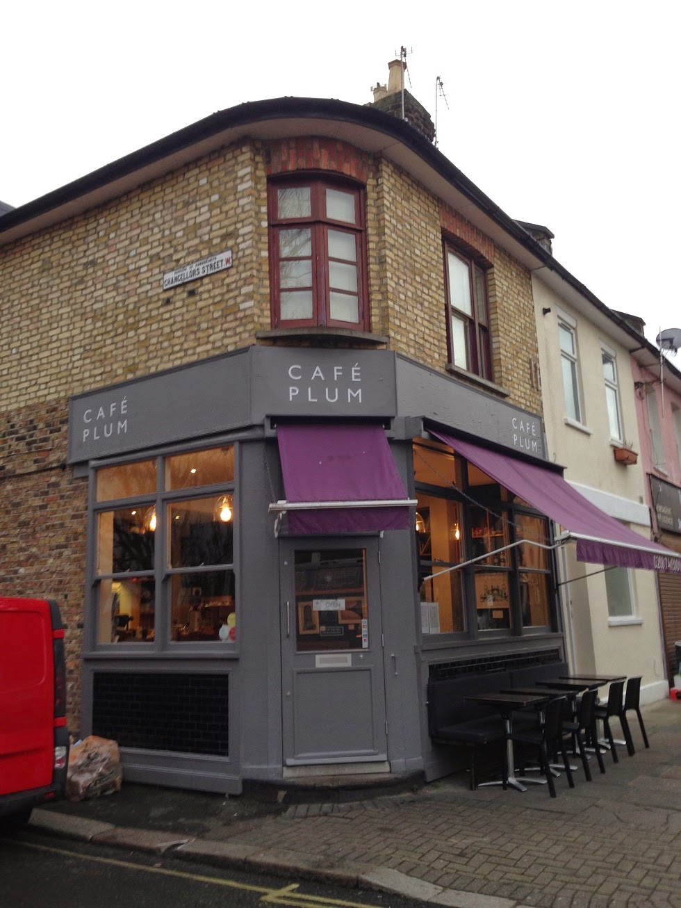 Café Plum, Chancellor's Street, Hammersmith, London