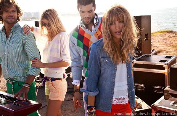 Moda verano 2014 Tannery camisas de mujer.