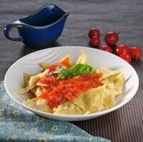 Resep Herbs SeaFood Ravioli