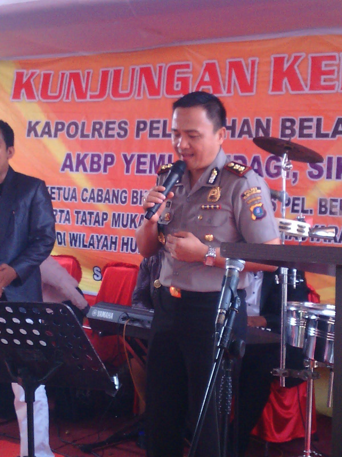 Kapolres Pelabuhan Belawan Kunjungi Polsekta Medan Labuhan