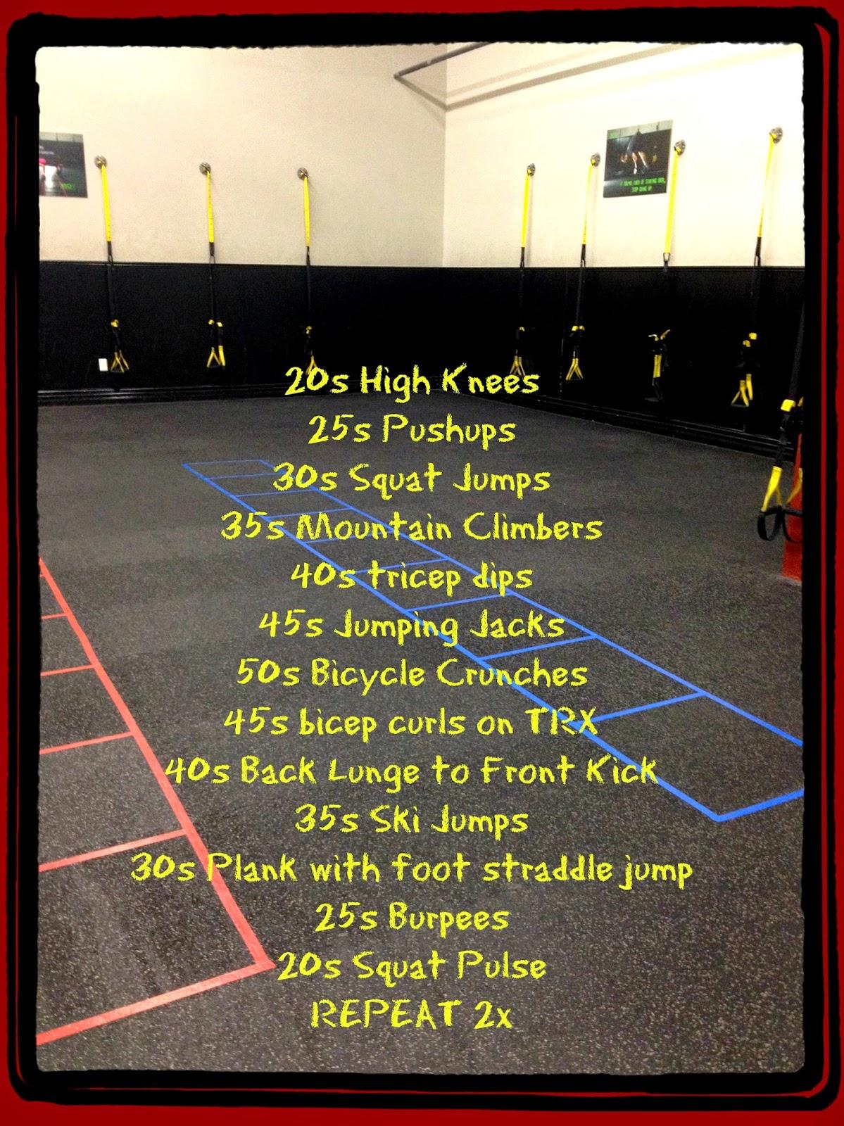 Runner Girl Fitness: Bootcamp Workout Ideas
