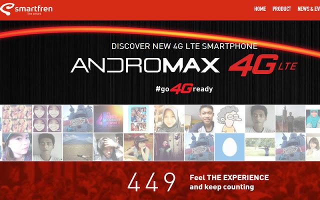 Andromax 4G LTE Smartfren