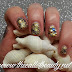Nail Art Tutorial con smalto semipermanente: Mermaid Jewel Mani