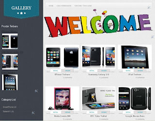 blogger template gallery modif