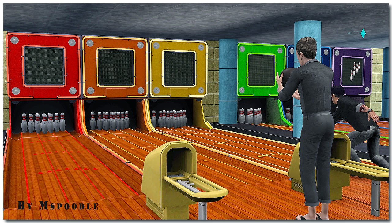 sims 4 how to add bowling alley