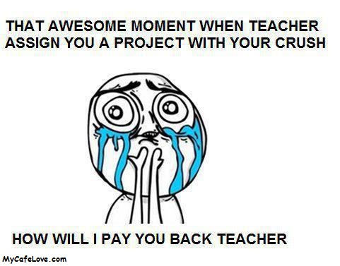 That awsome moment with your Crush - nice image