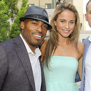 Tiki Barber and his hot young girlfriend
