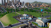 Usina de Energia Elica no SimCity - Estgio 2