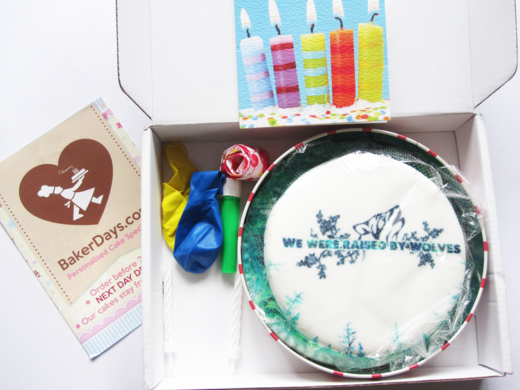 Baker Days Personalised Cake review