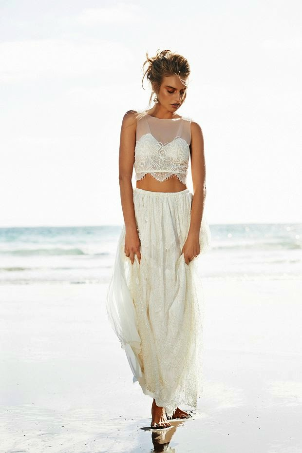 Non Traditional Beach Wedding Dresses 2015 | Prom gowns and wedding ...