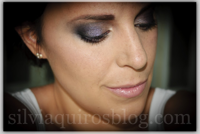 Maquillaje novia ahumado intenso bridal intense makeup Silvia Quiros SQ Beauty