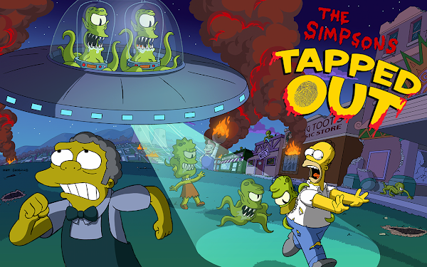 The Simpsons Tapped Out - Halloween 2014