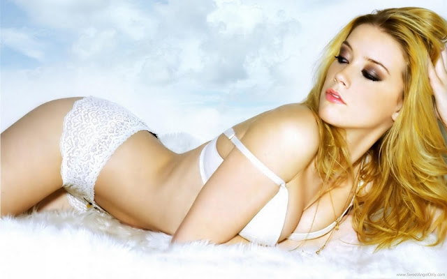 Amber Heard Wide Screen Wallpaper