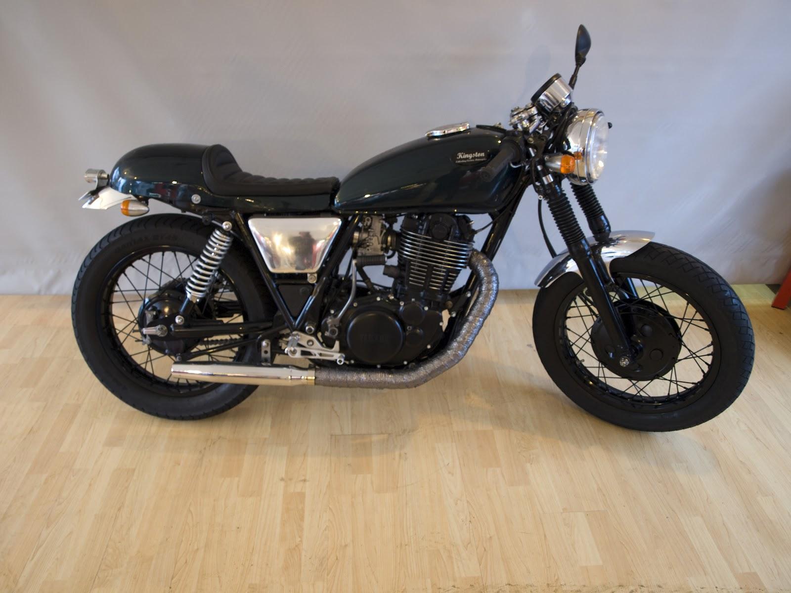 biker excalibur ii yamaha sr 500 cafe racer by kingston. Black Bedroom Furniture Sets. Home Design Ideas