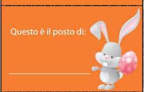 Segnaposto Pasquali Plasmon