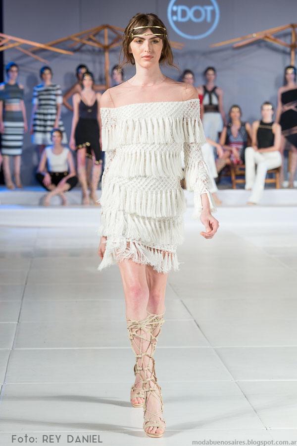 DOT by Laurencio Adot primavera verano 2016. Moda Argentina primavera verano 2016.